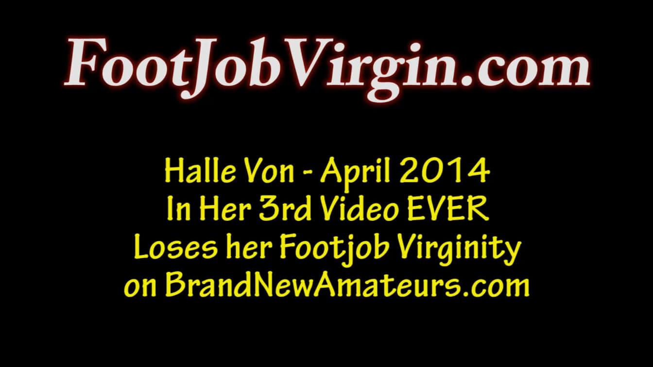 FootJobVirgin presents Jamie HQ Non-Nude